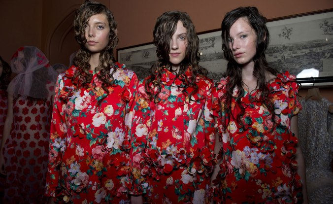 Simone Rocha SS15. (Photography by Jason Lloyd-Evans)