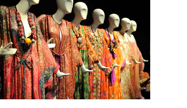 Fashion & Textile Museum exhibition displays Thea Porter's dresses (PC: Culture Whisper)