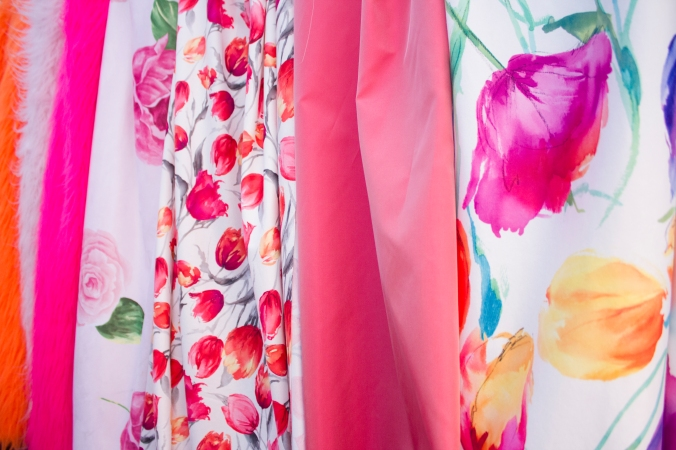 Lots of bright, Spring florals