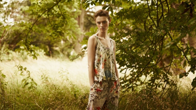 "Paul Smith S/S 13: ""A dreamy summer mix of collaged florals.""  (Photo: Paul Smith Focus)"