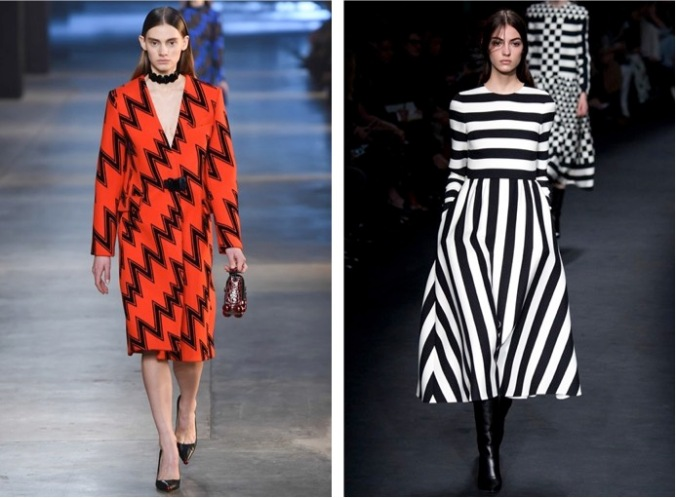 Right: Christopher Kane; Left: Valentino (Photos: Vogue/Indigital)