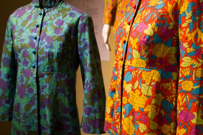 Jackets, c1968, cotton. Liberty prints designed for Sambo's Dollyrockers