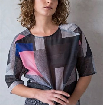 Zaha Collection - Concept Print Top, Oliverbonas.com