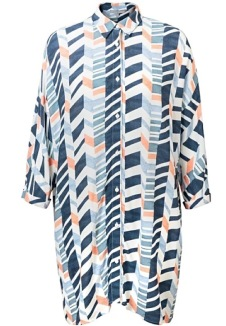 Kiyoko Collection - Haruko Print Shirt, Oliverbonas.com