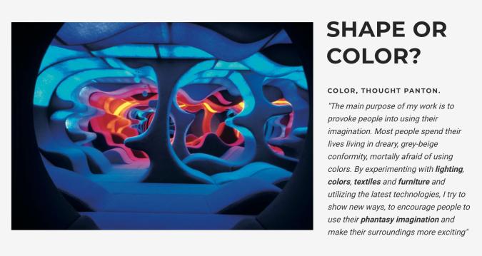 Verner Panton Shape or colour