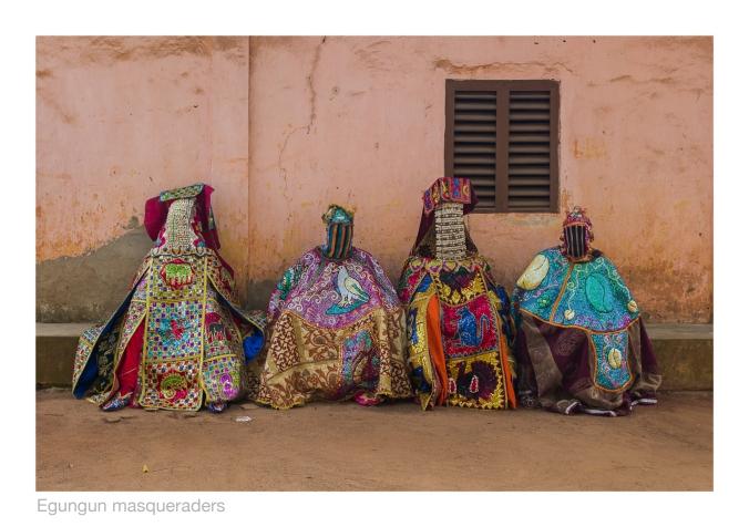 Egungun masqueraders