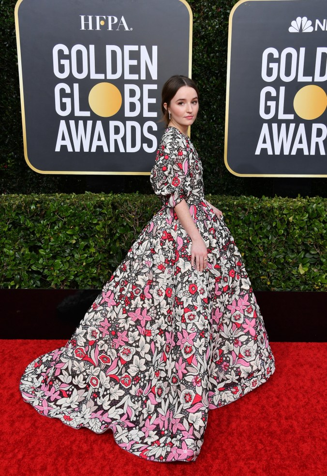 kaitlyn dever in valentino