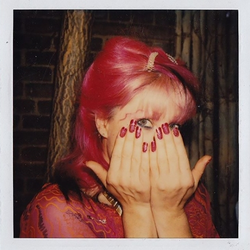 Z with Pink Hair Pink Nails. Archived by 'Zandra With A Zee' - Documentary about Zandra