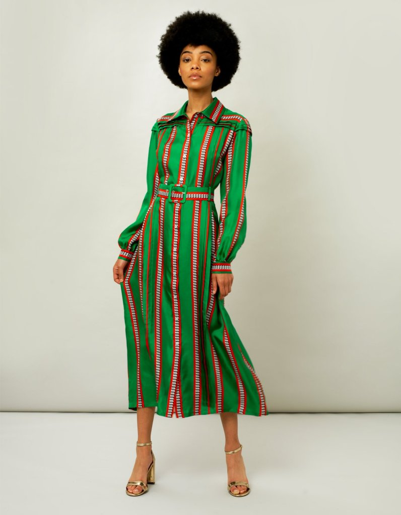 Fabulous bold colours in striking stripes